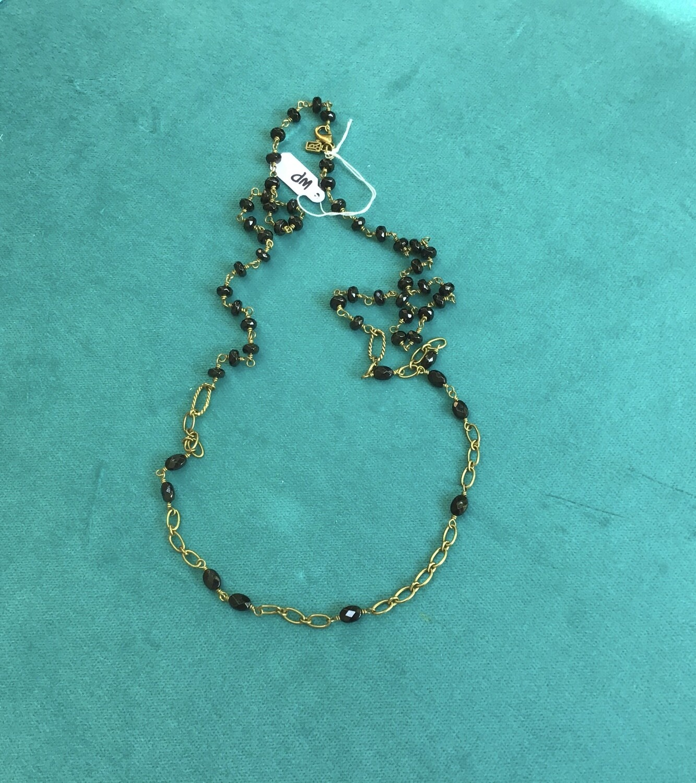 "Waxing Poetic Necklace - 31"""