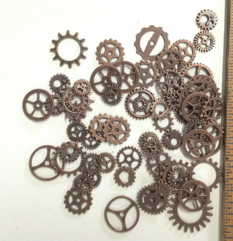 Craft Gears / Copper Tones