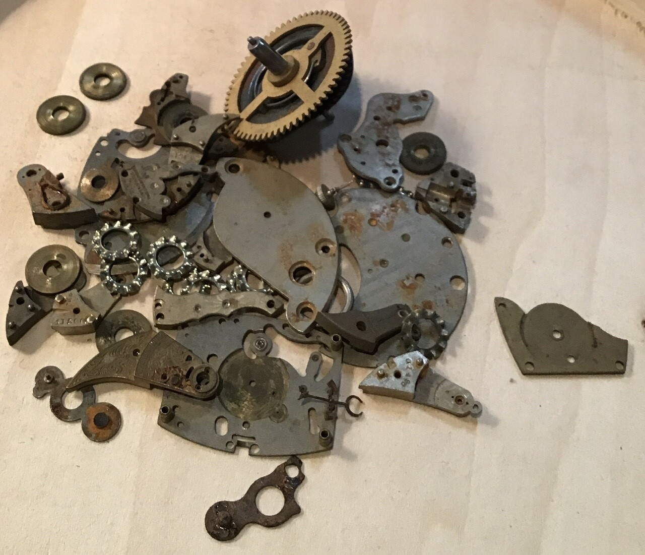 Watch Parts (Gears) / Vintage / #7