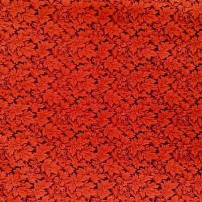 Fabric: Black/Red Cotton