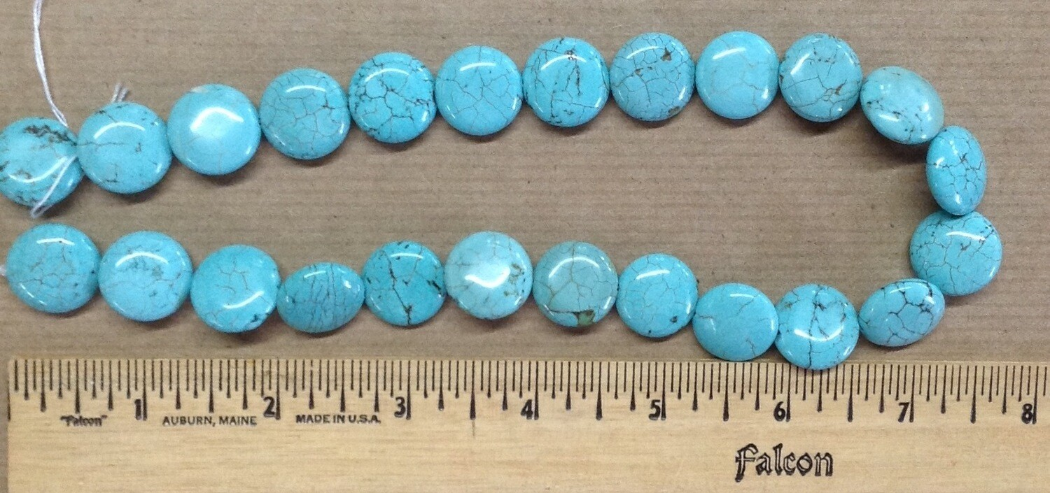 Beads: Turquoise Disc