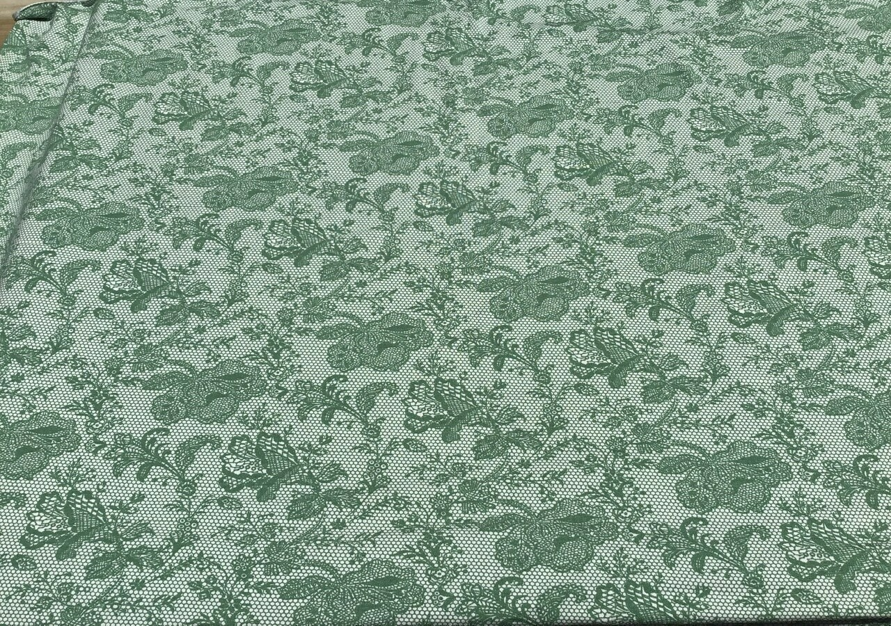 Fabric: Jersey, Lacey Green