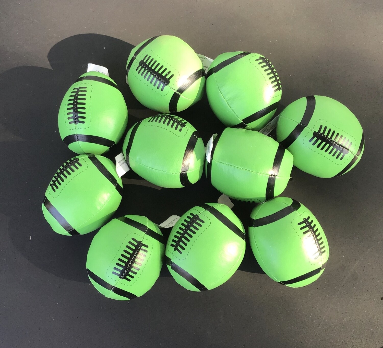 Mini-Footballs, Soft (G) / 10 for $1.