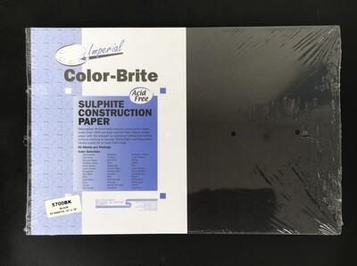 Construction Paper / Black