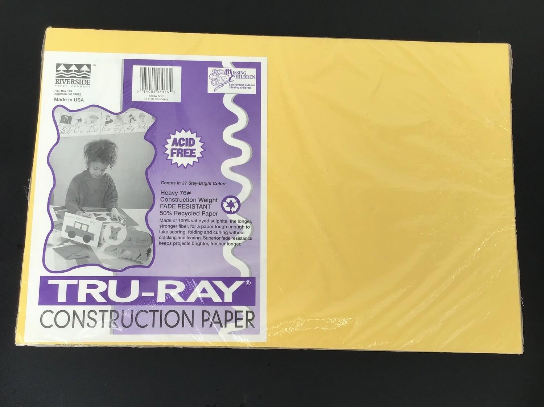 Heavyweight Paper / Yellow