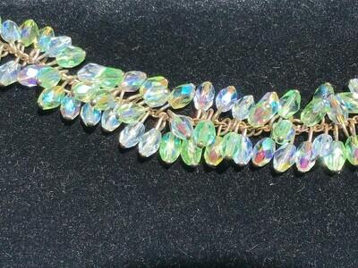 Bracelet w/ Iridescent Beads