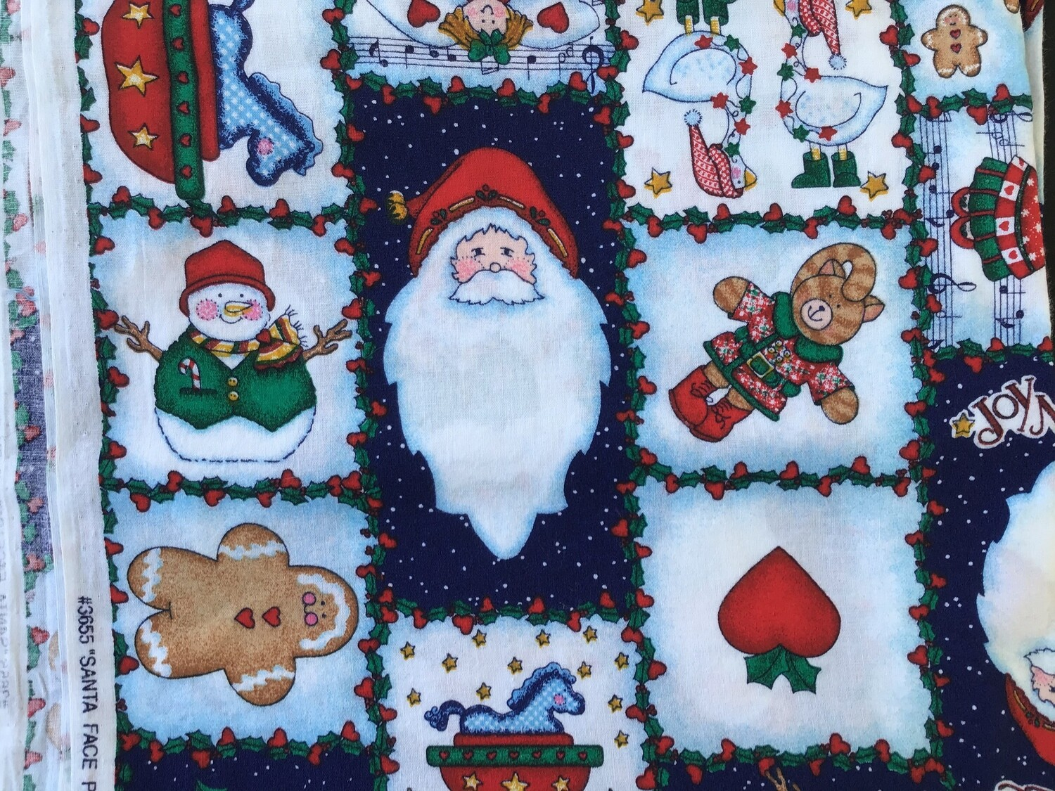 Fabric: Christmas Images / Cotton