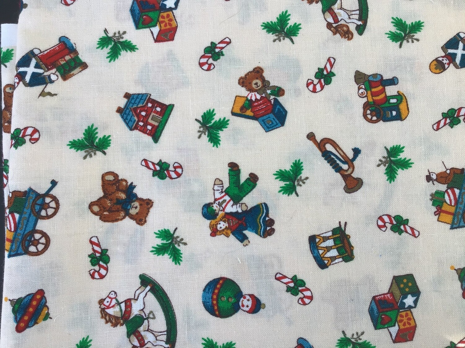 Fabric: Christmas Mini Toys / Cotton