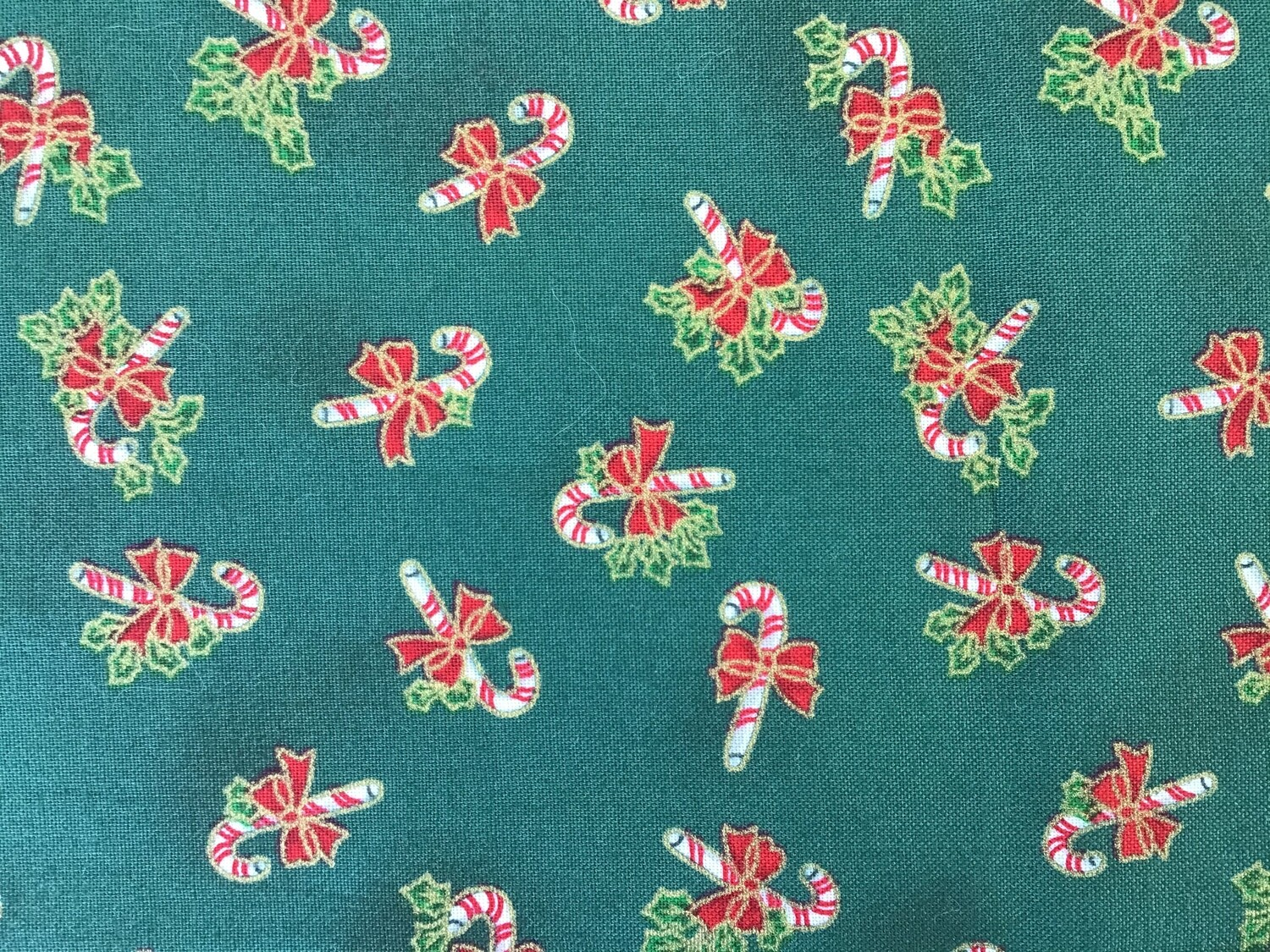 Fabric: Candy Canes / Cotton