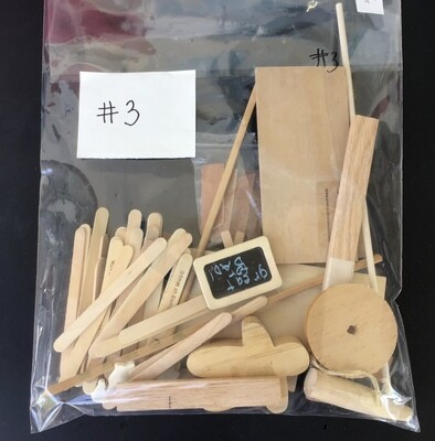 Bag of Wood Pieces #3