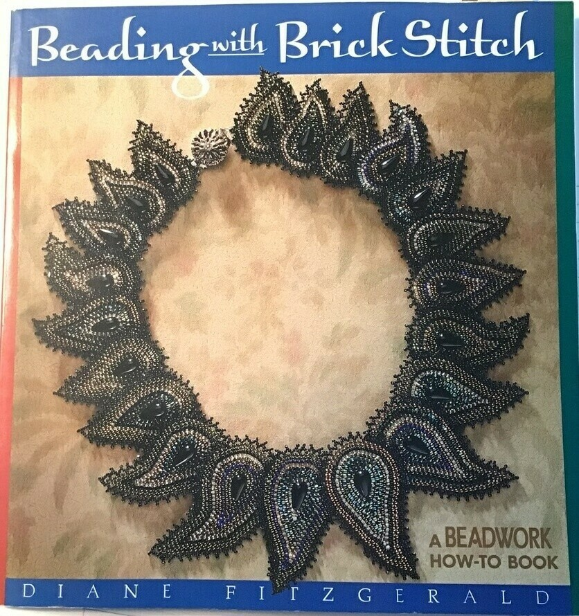 "Book: ""Beading With Brick Stitch"""