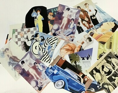 Collage Pack/ 1920s & '30s Graphics