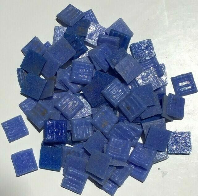 Mosaic Tile: Blue, 100 Pieces