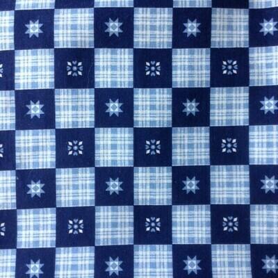 Fabric: Blue Check / Cotton