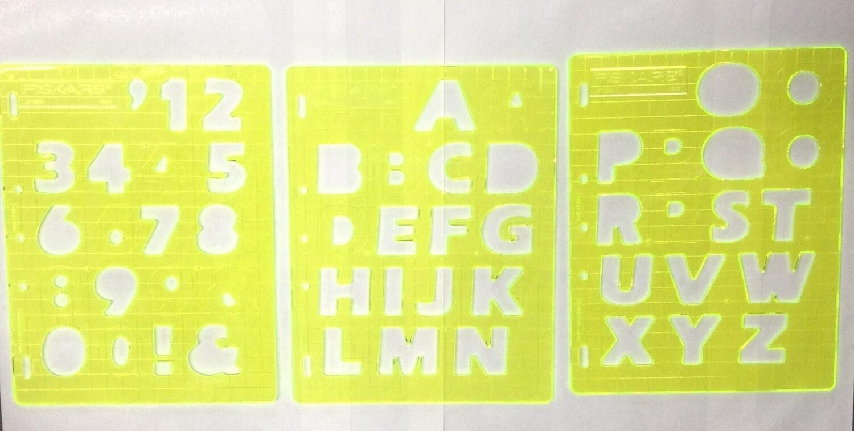 Number & Letter Templates by Fiskars