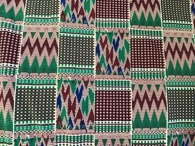 Fabric: Stretch / Geometric