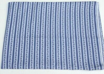 Fabric: Blue Stripe / Cotton