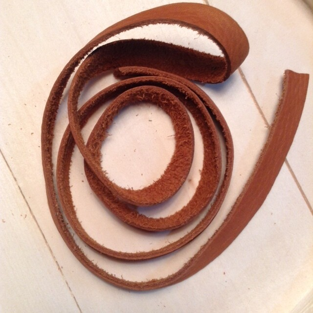 Leather Strap: Light Brown
