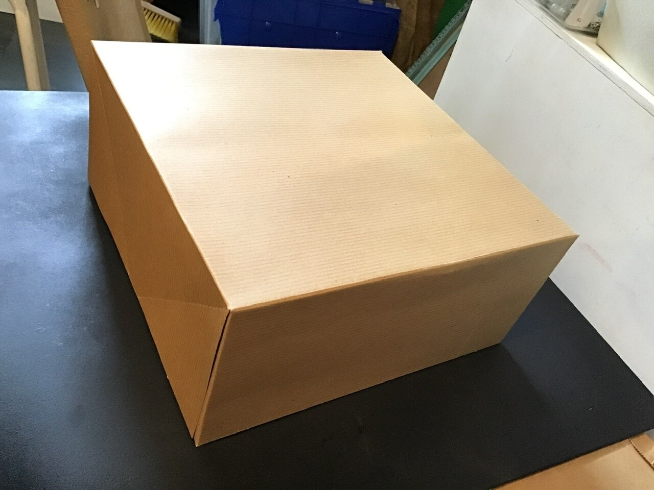 "2 Gift Boxes - 12"" x 12"" x 5 1/2 """