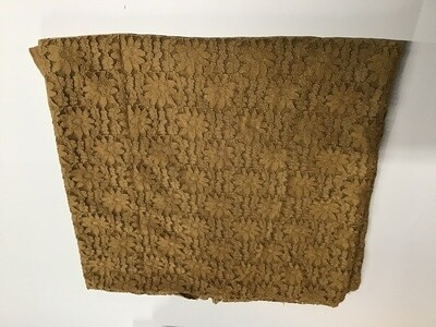 Fabric: Butterscotch Stretch Lace