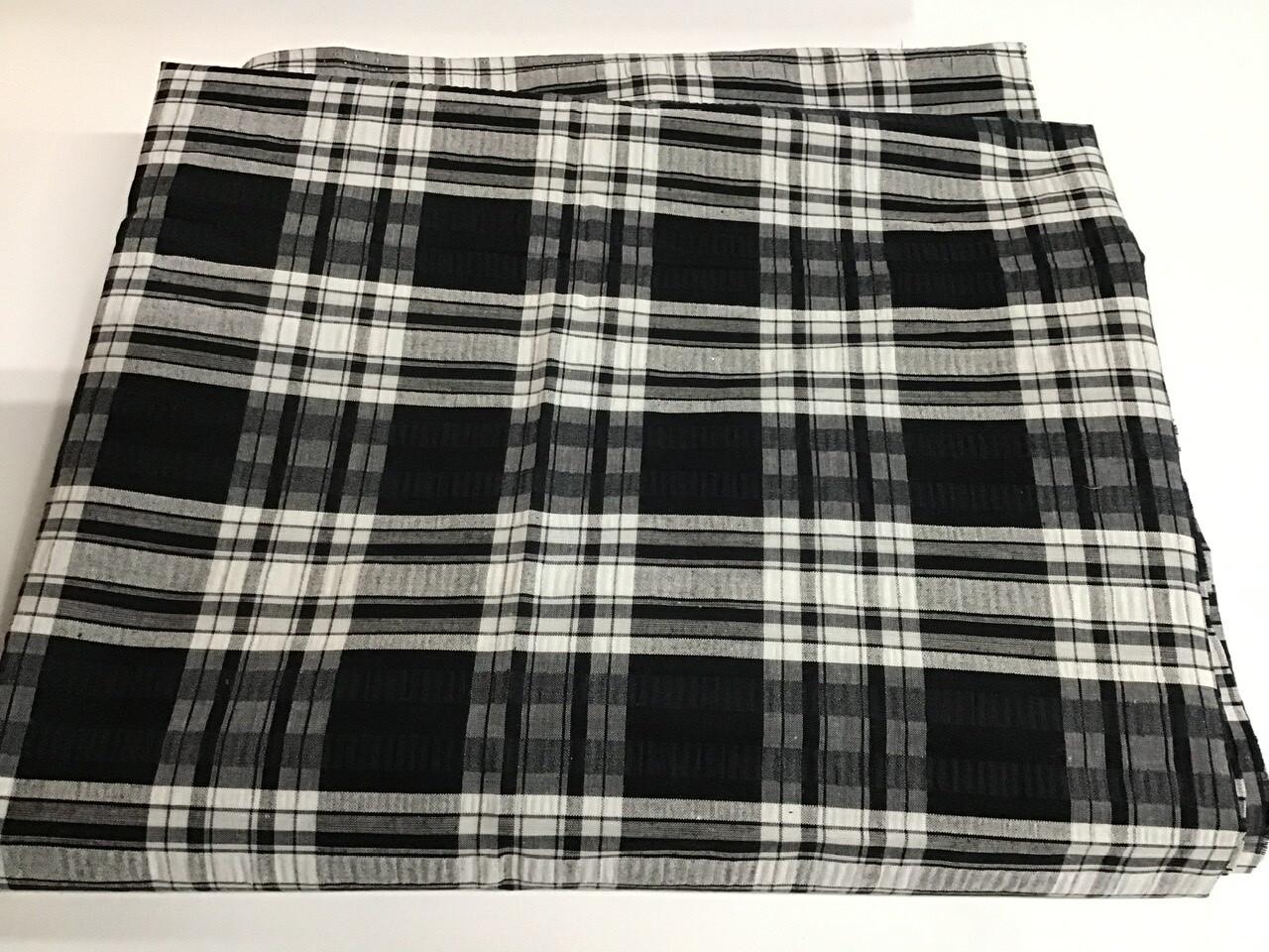 Fabric: B&W Seersucker