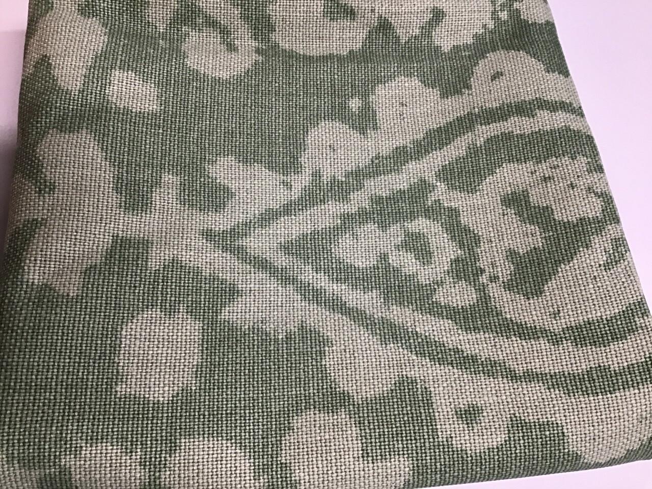 Fabric: Heavy weight Linen, Green Design