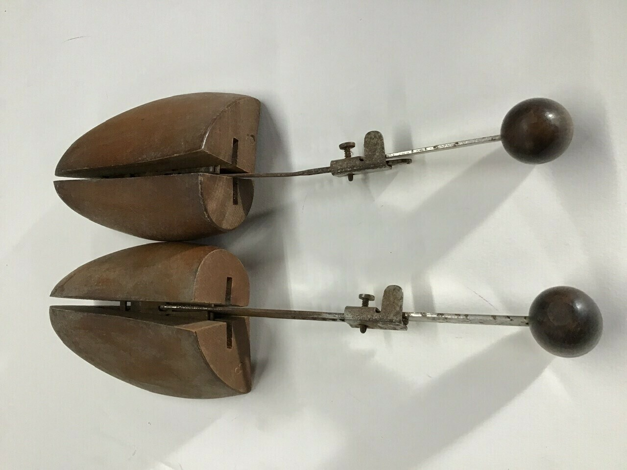 Pair of Vintage Wood Shoe Inserts