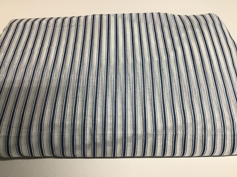 Fabric: Cotton Blue Stripes
