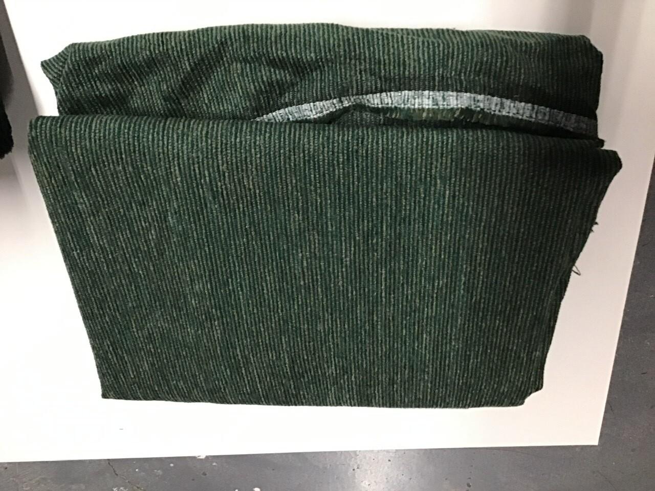 Fabric: Upholstery, in Green/w Tan