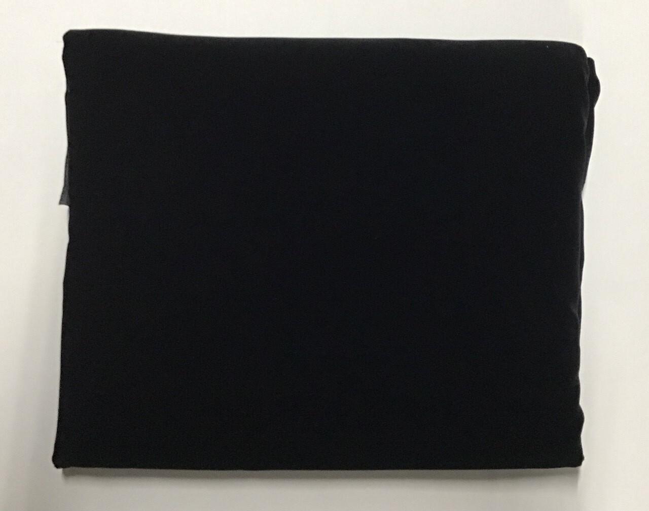 "Fabric: Black ""Micro-Velvet"""