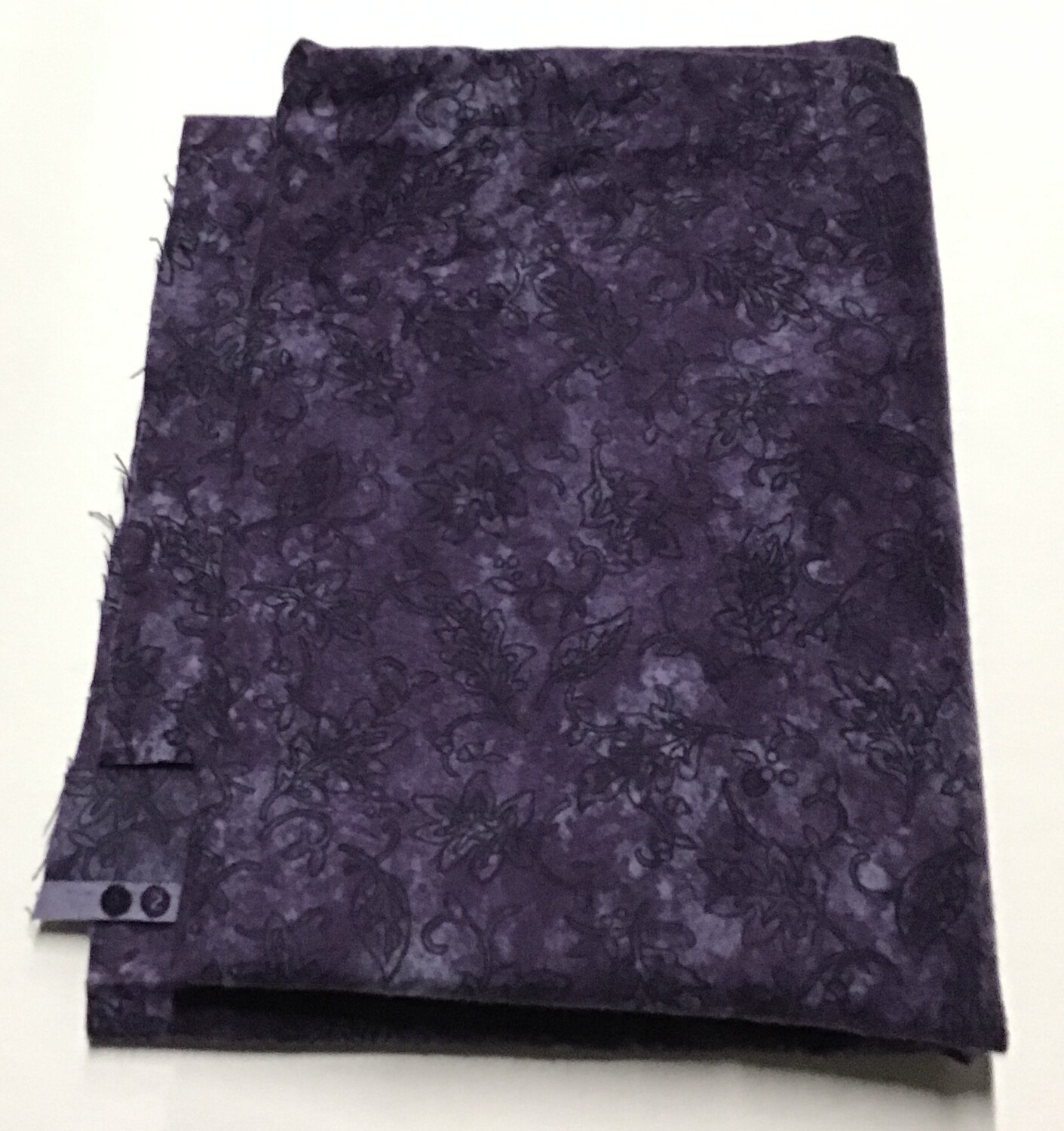 Fabric: Purple Flannel, Cotton