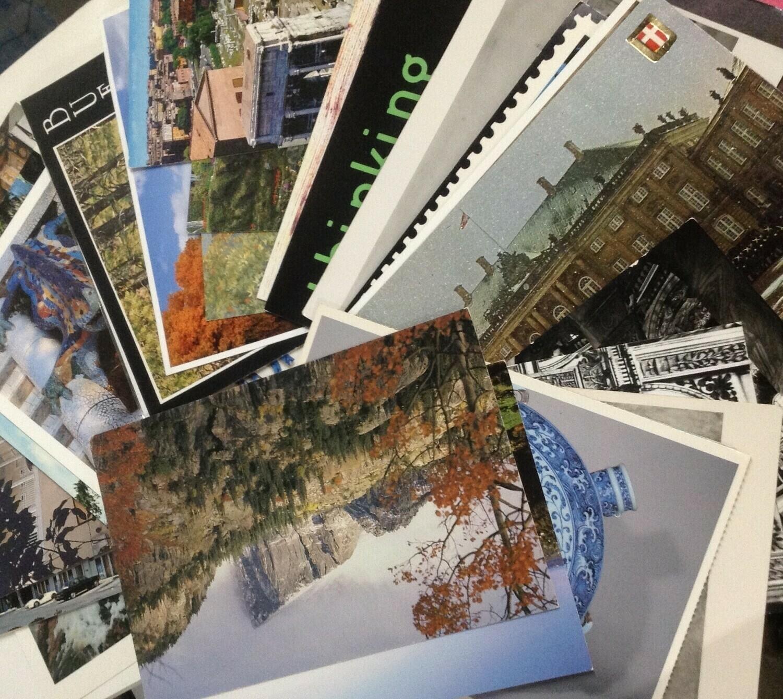 Postcards: 30 for 3 Bucks