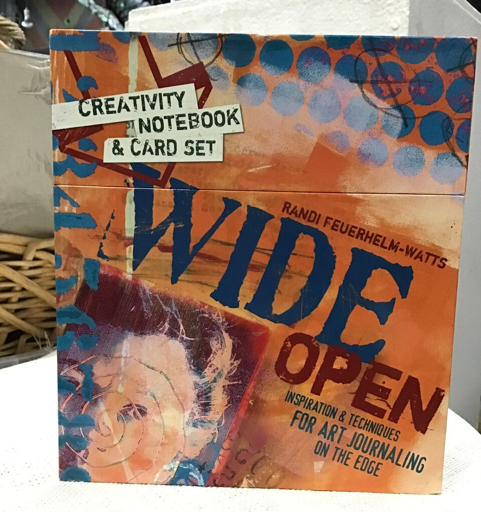 """Wide Open"" Creativity Journal and Prompt Cards"