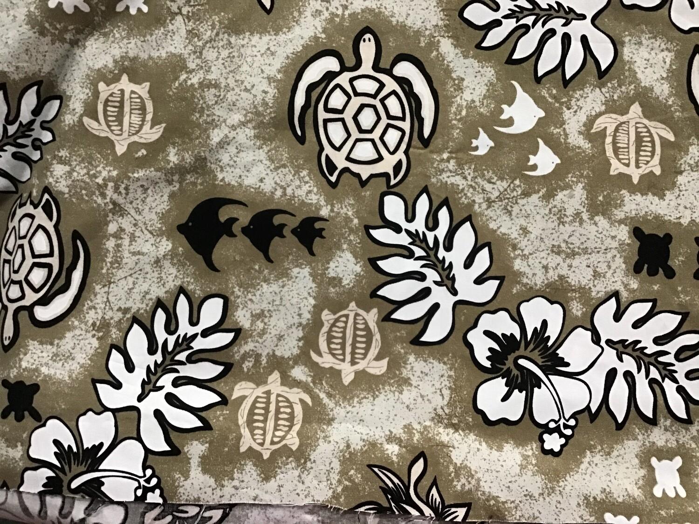 Fabric: Hawaiian Print / Cotton