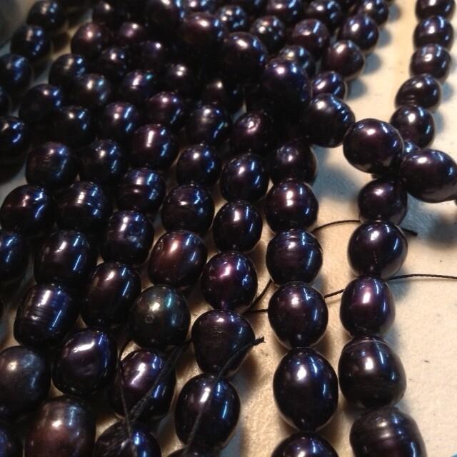 Pearls: Freshwater, Peacock Black