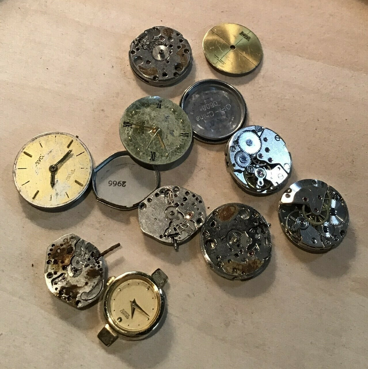 Watch Parts (Gears) / Vintage / #9