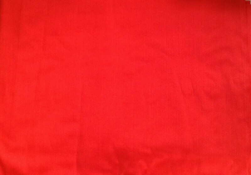 Fabric: Tomato Red / Cotton / 3 Pieces