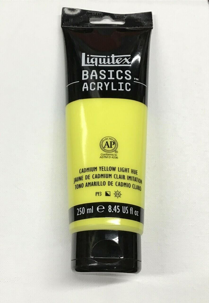 Liquitex Cadmium Yellow Light Acrylic Paint / 8.45 oz. tube