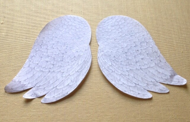Iron-On Angels Wings