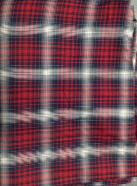 Fabric: Blue & Red Plaid