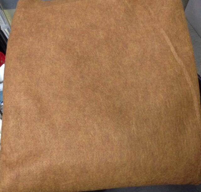 Gingerbread-color Felt
