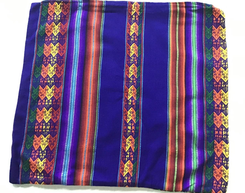 Peruvian Pillow Cover - Purple