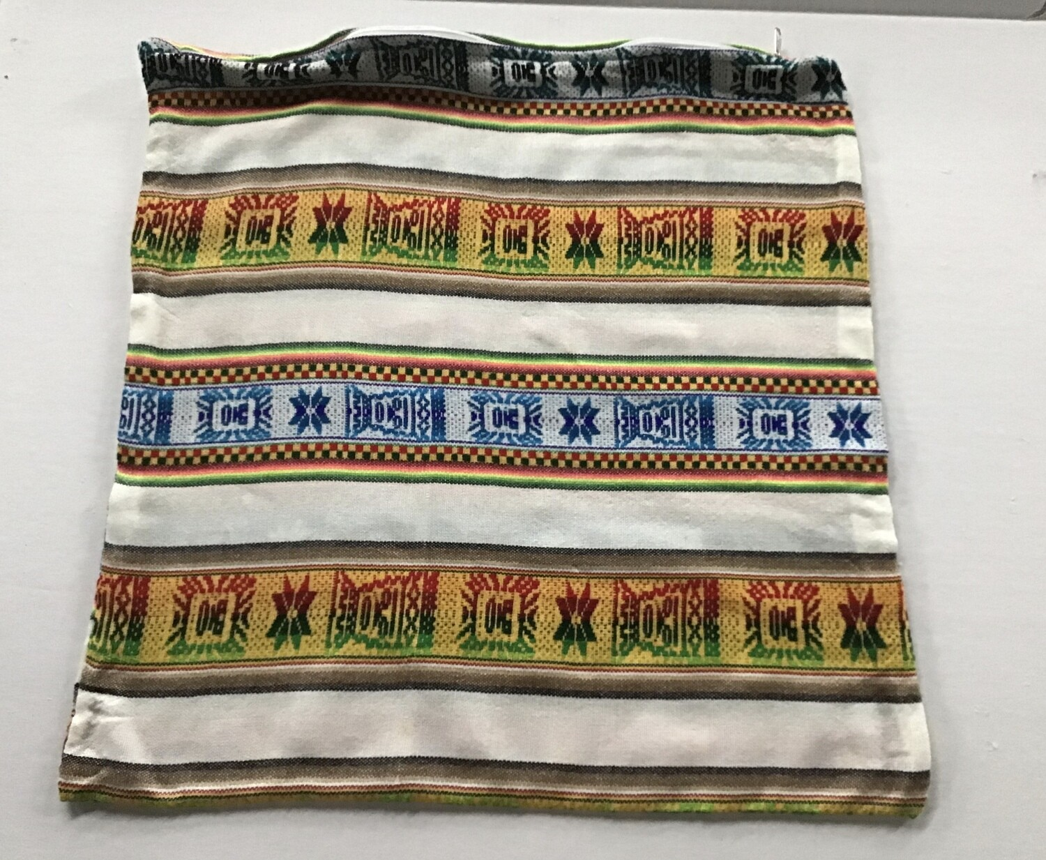Peruvian Pillow Cover - White