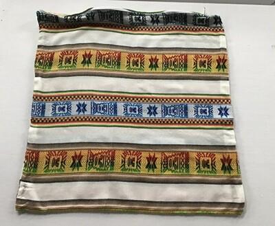 Peruvian Pillow Cover - White