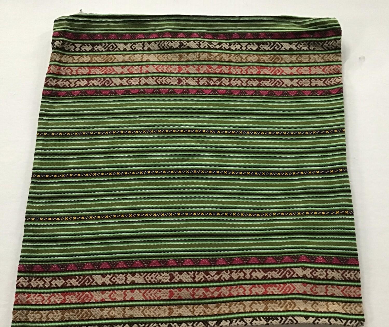Peruvian Pillow Cover - Green