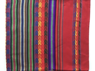 Peruvian Pillow Cover - Red