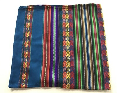 Peruvian Pillow Cover - Turquoise