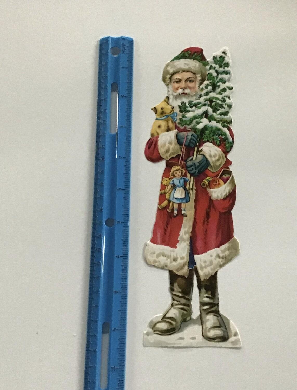 Vintage Paper Santa #E