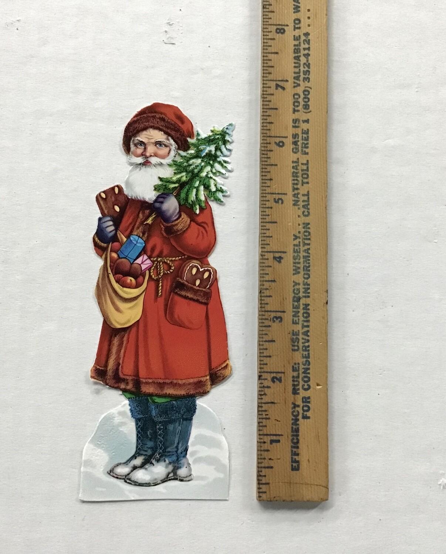 Vintage Paper Santa #B