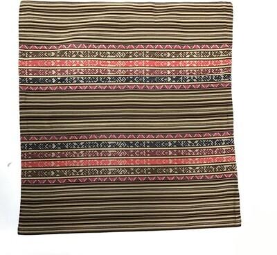 Peruvian Pillow Sham Large - Brown